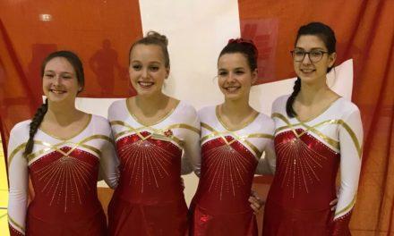 Gymnastique – Journées Suisses des tests – Veyriers – Magnifiques distinctions d'Estelle et de Olivia