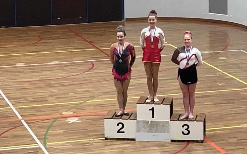 Gymnastique – Coupe de Printemps – Clarens – Magnifiques résultats pour les filles