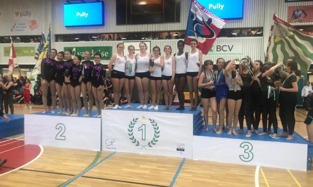 Championnats Vaudois – Magnifique week-end pour la Gym Morges 4 fois l'or et une distinction