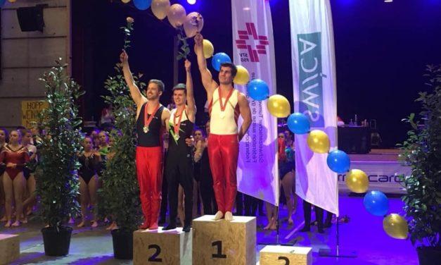 Agrès – Championnats Suisses individuels – Stéphane Détraz ROI Suisse à la barre fixe! Magnifique