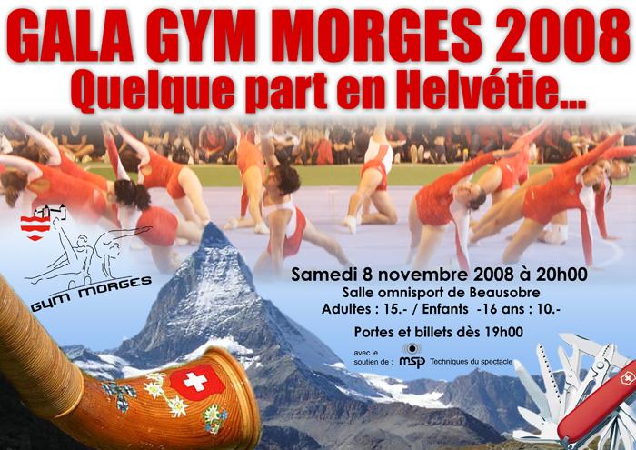 Affiche Gala 2008