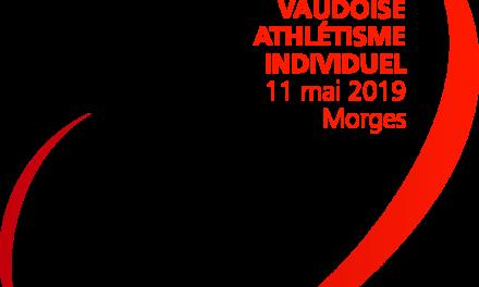 Inscription bénévoles Qualification Vaudoise Athlétisme Individuel Samedi 11 mai 2019
