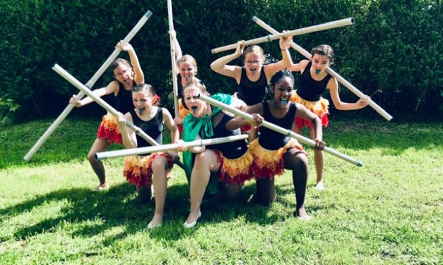 Gym et danse groupe Junior – Coupe des bains – Très belle place avec Vaiana